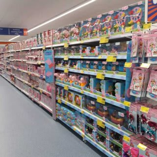 B&M's brand new store in Lichfield stocks an exciting and always up to date selection of the latest toys from the biggest brands, like Frozen, Disney, Ryan's World, L.O.L and more!