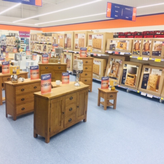 B&M's brand new store in Brislington stocks a huge range of quality furniture: everything from wardrobes and beds to coffee tables and dining sets.
