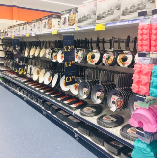 B&M's brand new store in Brislington stocks an extensive range of kitchen essentials, from cookware and utensils to placemats, dinnerware and glassware.