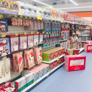 B&M's brand new store in Brislington stocks a beautiful Christmas, everything from decorations, lights and Christmas trees, to gift bags wrapping paper, selection boxes and much more!
