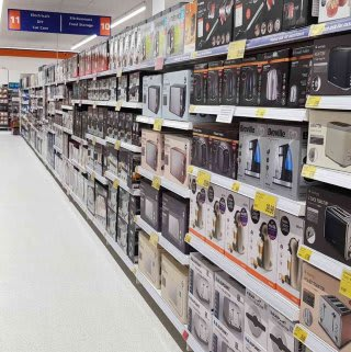 B&M's brand new store in Cowdenbeath stocks a great range of electrical items for the home, including TVs, Bluetooth speakers, toasters, irons and much more.