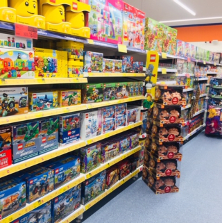 B&M's brand new store in Portsmouth stocks a huge selection of the latest toys and games for boys and girls of all ages, from action figures and dolls to board games and role play toys!