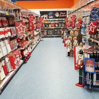 B&M's brand new store in Brecon stocks a beautiful Christmas range, everything from decorations, lights and Christmas trees, to gift bags wrapping paper, selection boxes and much more!