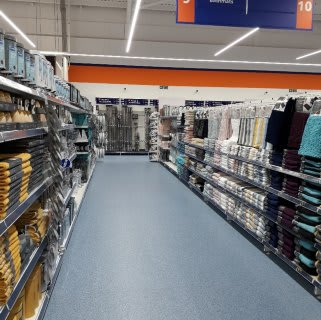 B&M's brand new store in Llanishen stocks a huge selection of bathroom textiles, from bath mats and pedestal mats, bath towels, bath sheets and matching hand towels.