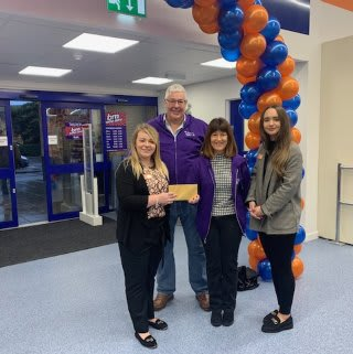 Store staff at B&M's new store in Llanishen were delighted to welcome Stepeh from Latch Welsh Children's Cancer Charity, the store's chosen charity for opening day. The charity received £250 worth of B&M vouchers in appreciation of their dedication and hard work in the community.