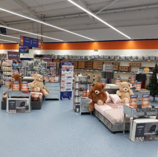 B&M's brand new store in Llanishen stocks a huge range of quality furniture, everything from wardrobes and beds to coffee tables and dining sets.