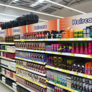 B&M's Featherstone has a wide range of beauty and toiletries, including an extensive haircare selection.