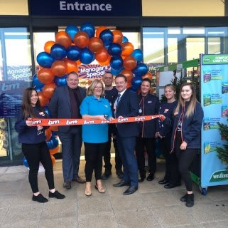 Store staff at B&M's new store in Shiremoor were delighted to welcome local mayor, Norma Redfearn and local charity Pathways4all. The charity received £250 worth of B&M vouchers for taking part in B&M's special day, while Mayor Redfearn cut the ribbon to officially open the store.
