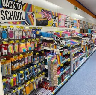 B&M's brand new store in Havant is the place to be for all your kids' Back to School essentials! Everything from brand new backpacks and lunchboxes, to stationery like pens and pencils, notepads, filing, pencil cases and much more!