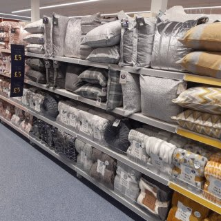 B&M's brand new store in Prestonpans stocks a stunning range of soft furnishings for the home, including cushions, covers, throws, blankets and more!