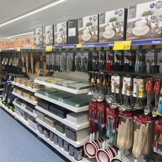 B&M's brand new store in Tunbridge Wells stocks an extensive range of kitchen essentials, from cookware and utensils to placemats, dinnerware and glassware.