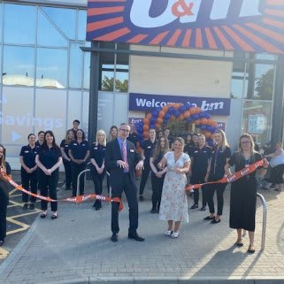 The store team is ready and the ribbon's been cut! B&M is open for business in Tunbridge Wells! You'll find us at North Trading Estate, located to the north east of the town centre.