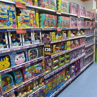 B&M's brand new store in Tunbridge Wells stocks a huge selection of the latest toys and games for boys and girls of all ages, from action figures and dolls to board games and role play toys!
