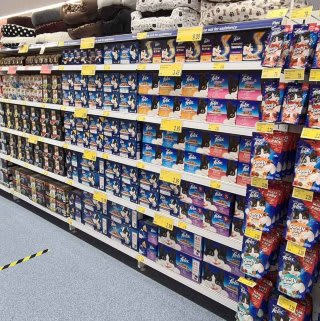 B&M's brand new store in Lisburn stocks an amazing and ever-changing pet range, from dog and cat food to toys and pet bedding.