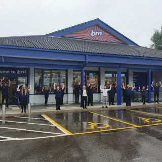 The store team is ready and the ribbon's been cut! B&M is open for business in Golborne! You'll find B&M's newest store located in the heart of the town centre on High Street.