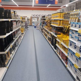 B&M's brand new store in Washington stocks a huge DIY range for all your home improvement needs.