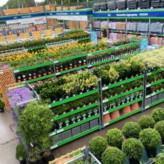 B&M's brand new store in Washinton boasts an extensive Garden Centre range; everything from fencing and aggregate, to planters and sheds.