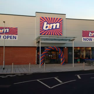 B&M's latest addition in Broomhall, Worcester. The 10,557 sq ft store is located on Bath Road.
