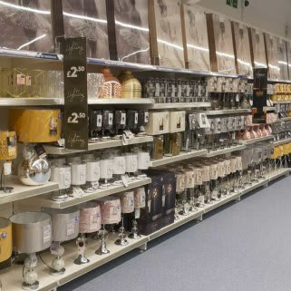 B&M's brand new store in Mold stocks a charming range of home decor, including table lamps, light pendants and much more.