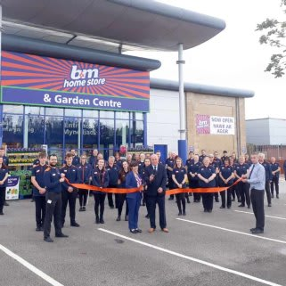 The store team is ready and the ribbon's been cut! B&M is open for business in Mold! You'll find B&M's newest store located close to the town centre on Chester Road.