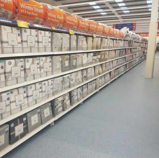 The bedding on display at the New B&M Portlethen