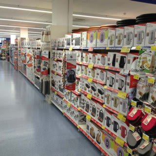 The new range of Goodman's products on offer in B&M Orient Way