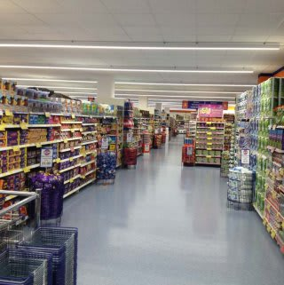 A first glimpse inside the new B&M Orient Way on opening day.