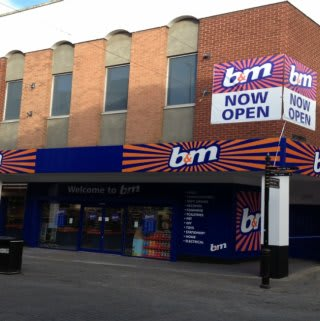 B&M Orient Way on opening day.