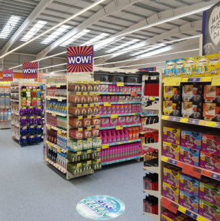 B&M Livingston is ready for its first customers.