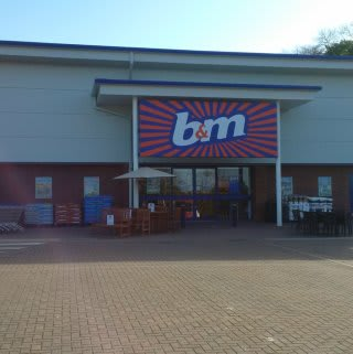 A first glimpse of B&M's new store in Congleton, located at Congleton Retail Park.