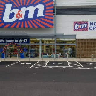 B&M's brand new Home Store in Strood, Kent. The store is located on the Strood Retail Park, Commercial Road.