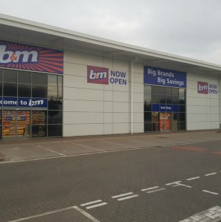 B&M's latest store to open in Daventry, located at Abbey Retail Park.
