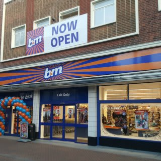 B&M's new Ashford store is located in the heart of the town centre on High Street.