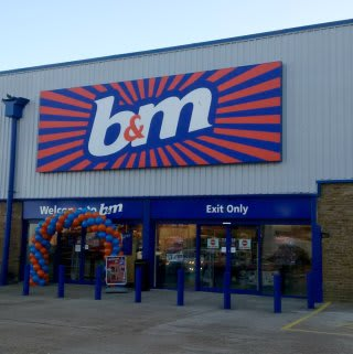 B&M's new store in Chatham is located on Medway Street (at the site of former Staples).