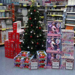 B&M offer a wide range of seasonal products for a Christmas to remember.