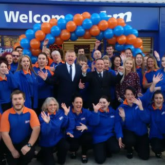 B&M Chatham's store team can't wait to open their doors to their first customers.