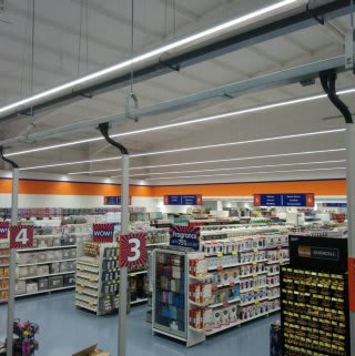 A first glimpse at B&M's new Edinburgh store, located on Straiton Retail Park.