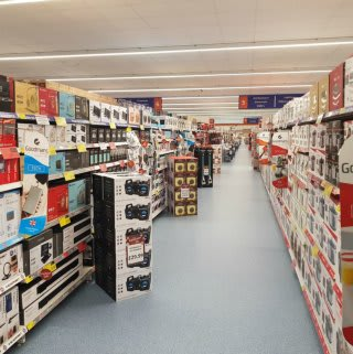 B&M's new store at Parc Tawe Retail Park, Swansea boasts a huge range of electricals.