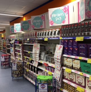 Browse B&M's Mother's Day selection at its new store on London Road, Lowestoft.