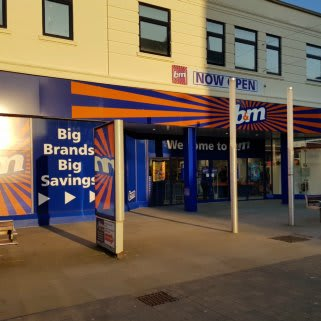 B&M's newest store is located in Lowestoft on London Road.