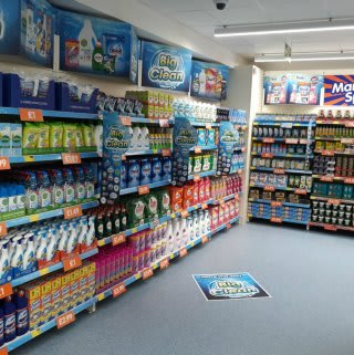 A first glimpse inside the recently opened B&M Bargains in Bishop's Stortford.