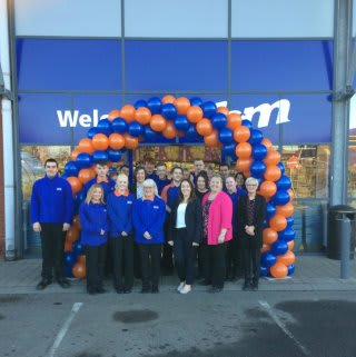 B&M's newest store team at Drumkeen Retail Park, Belfast are delighted to open their doors to their first customers.
