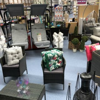 B&M stock a wide range of beautifully crafted furniture at its new store at Thackeray Mall, Fareham.
