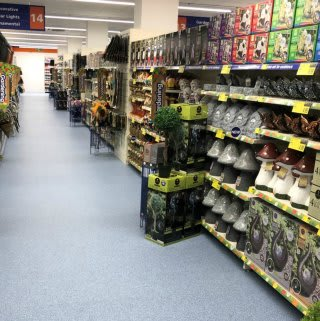 B&M's Gardening range at its new Thackeray Mall store in Fareham is bloomin' marvellous!