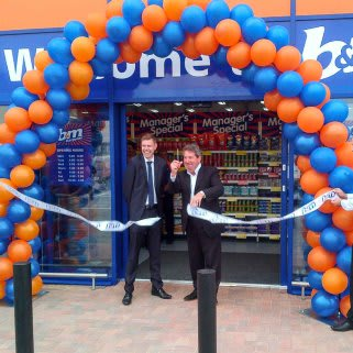 The Store has been opened by Gordon Henderson, MP for the isle of Sheppey.