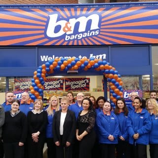 New store opening in Tolworth.