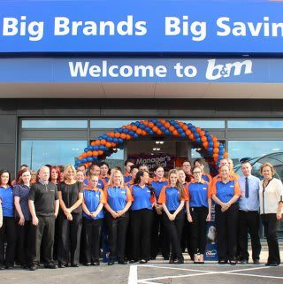 Our new team in the Edge Lane store.
