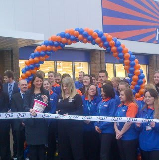 Store being opened by locally nominated charity, Falkirk for Mums.