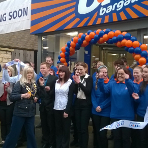 B&M's latest store in Bicester was officially opened by Deputy Mayor Melanie Magee.