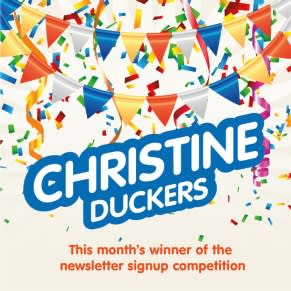 The Newsletter Competition Winner for June is...